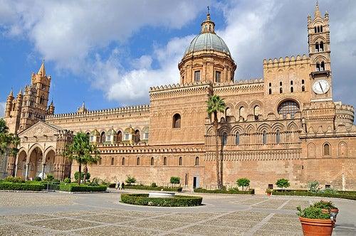 catedral de la ciudad de palermo