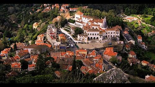 La ciudad de Sintra, la diosa celta de la luna en Portugal