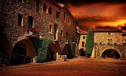 La comarca de la Ampurdán y sus pueblos medievales