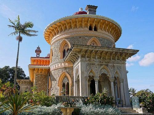 palacio de monserrate ciudad de sintra