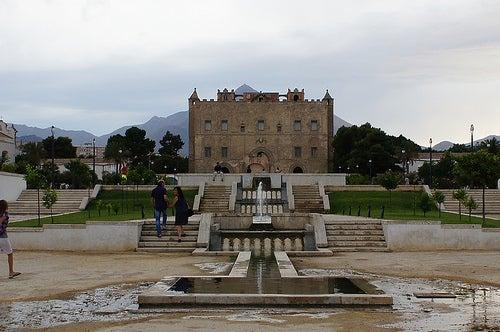 palacio de zisa ciudad de palermo