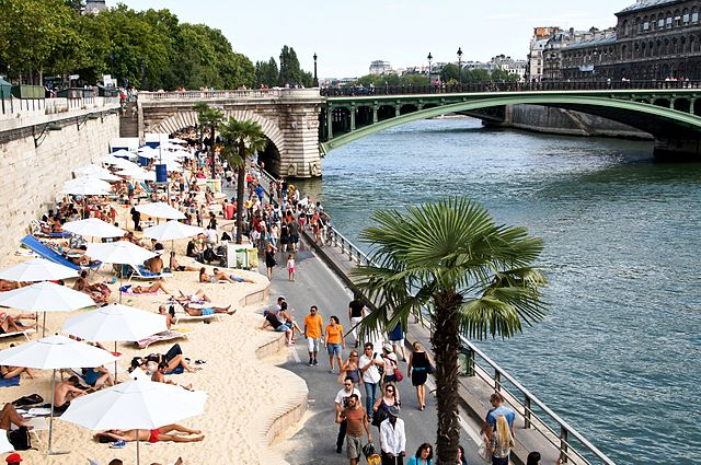 playa artificial paris