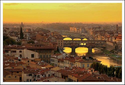 El Ponte Vecchio, el símbolo de la ciudad de Florencia