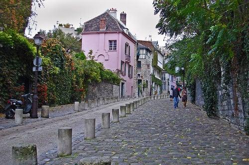 calles barrio montmartre