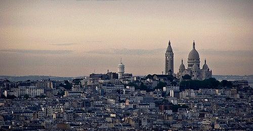 El barrio de Montmartre y la Basílica del Sagrado Corazón de París