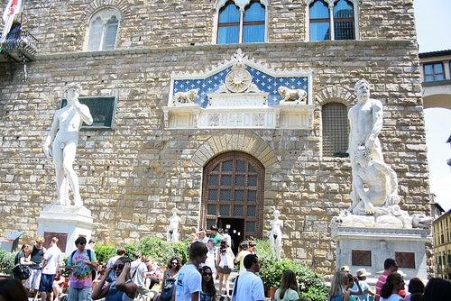 entrada palazzo vecchio