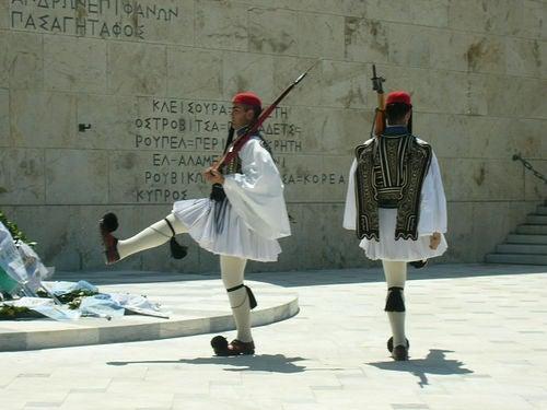 evzones plaza sintagma
