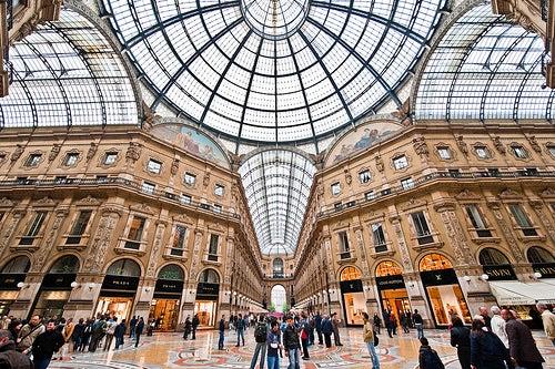 Nos vamos de compras a la Galería Vittorio Emanuele II de Milán