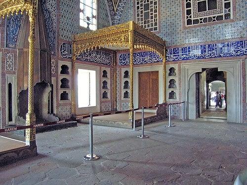 Istambul - Palau de Topkapi - Serrall. Cambra del príncep hereu