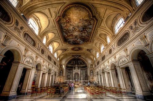 iglesia santa cecilia trastevere