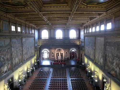 interior palazzo vecchio florencia