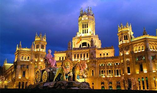 La plaza Cibeles, la más castiza de todo Madrid