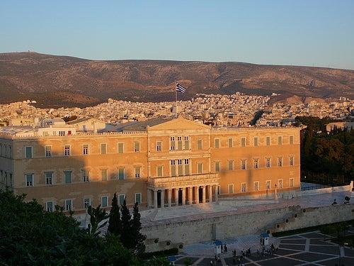 La plaza Sintagma, el corazón de Atenas