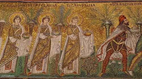 mosaicos basilica san apolinar