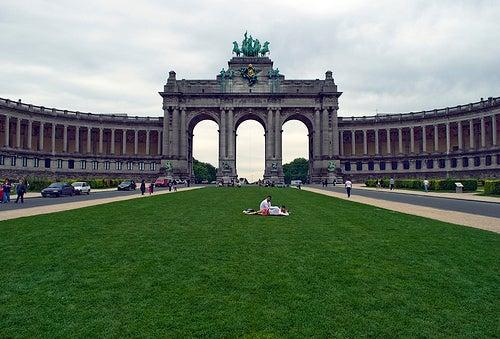 palacio del cincuentenario bruselas