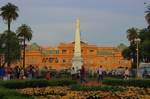 Las plazas más importantes de Buenos Aires