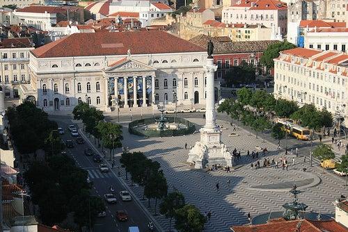 plaza rossio lisboa