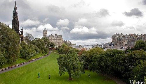 Los preciosos jardines y parques de Edimburgo