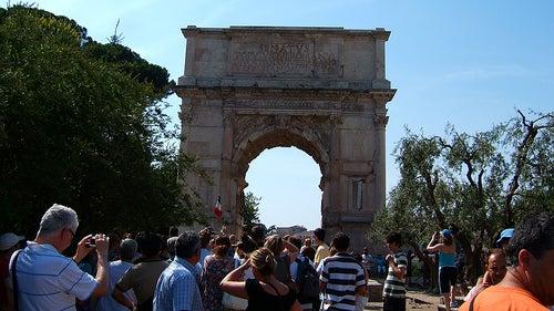 arco de tito foro romano