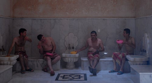baño turco cemberlitas