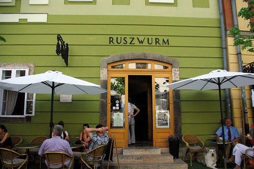cafetería Ruszwurm budapest