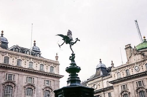 estatua eros piccadilly circus