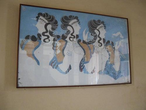 fresco palacio de knossos