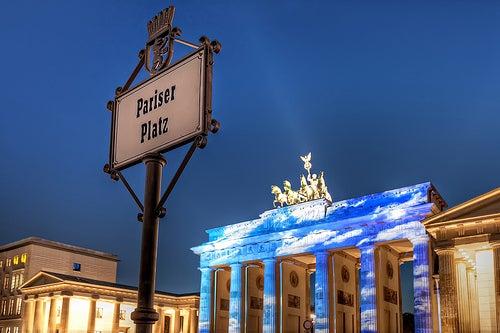 Paseando por las plazas de Berlín