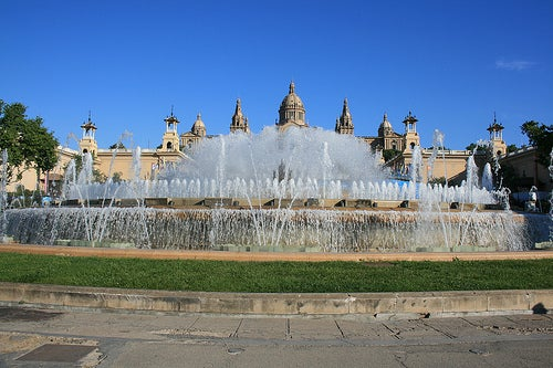 parque cervantes en barcelona