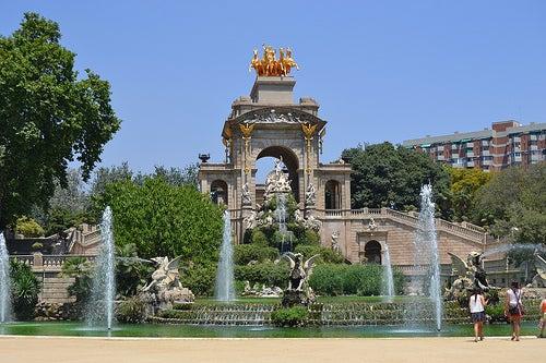 parque de la ciudadela en barcelona