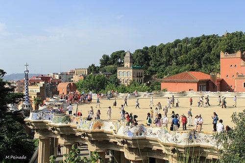 parque guell de barcelona