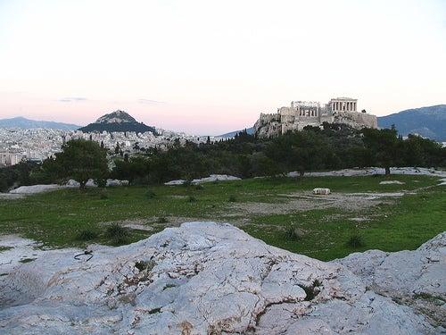 Las zonas verdes y parques de Atenas