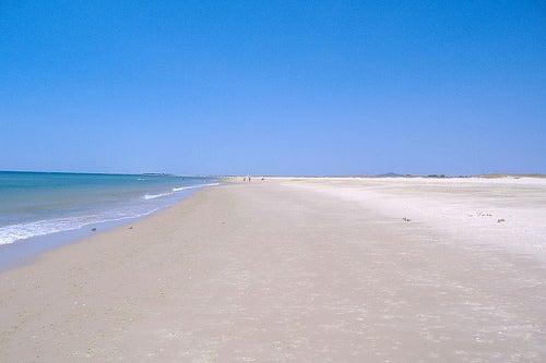 playa de tavira portugal