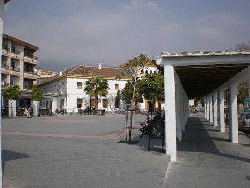 plaza de la alpujarra orgiva