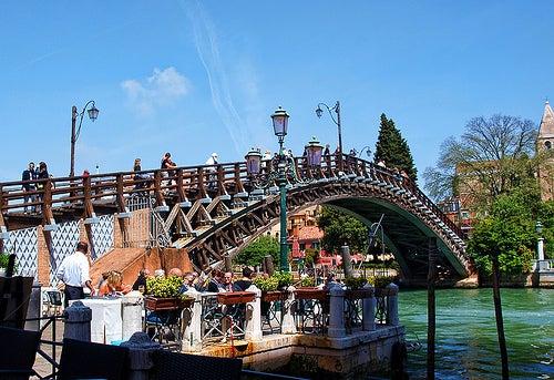 puente de la academia venecia