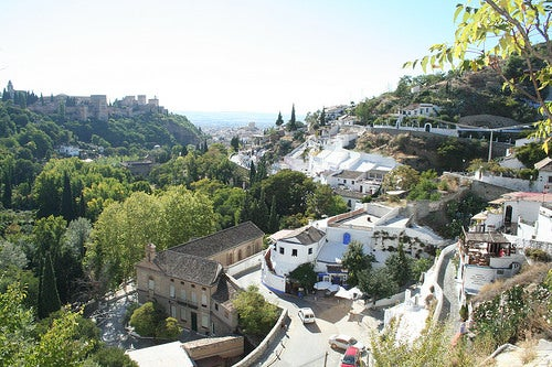 El Sacromonte en Granada, el barrio de los gitanos
