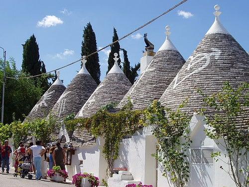 Alberobello en Italia, un pueblo muy peculiar