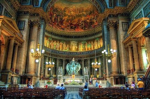 altar iglesia de la madeleine