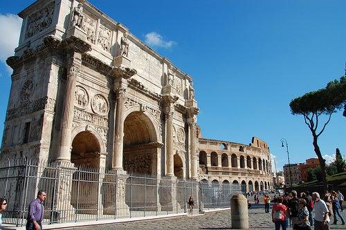 arco de constantino la roma antigua