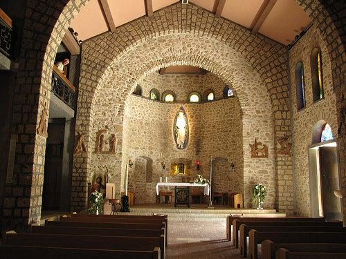 capilla greccio en italia