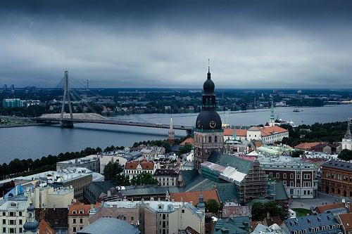 El casco antiguo de Riga, Patrimonio de la Humanidad