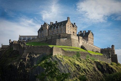 El castillo de Edimburgo, el lugar donde están las Joyas de la Corona