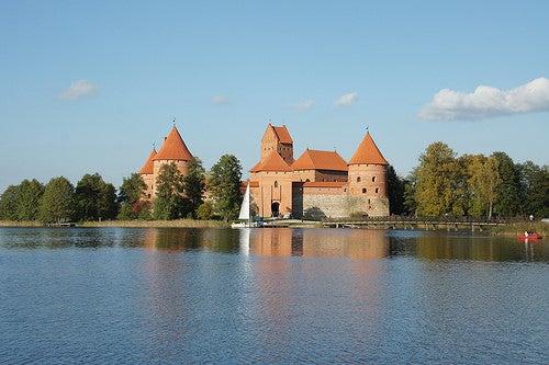 El castillo de Trakai, una joya arquitectónica en Lituania