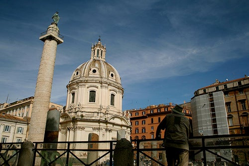 columna de trajano la roma antigua