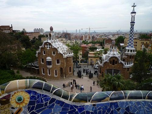 El parque Güell de Barcelona, Gaudí en estado puro