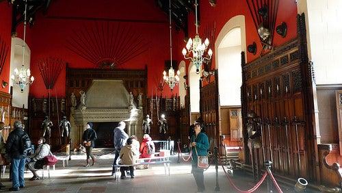 interior castillo de edimburgo