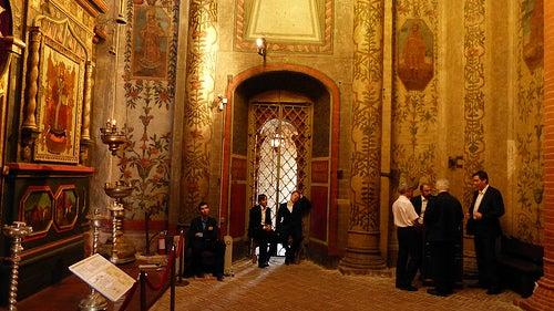 interior catedral de san basilio en moscu