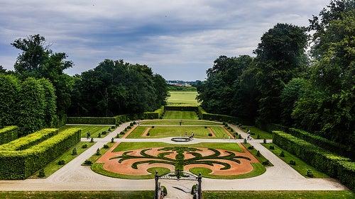 jardines castillo egeskov
