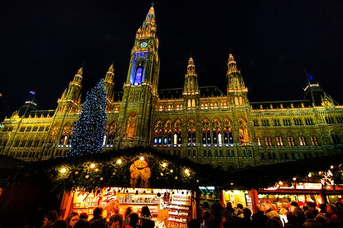Los mercadillos navideños de Viena