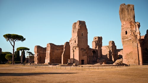 termas de caracalla la roma antigua